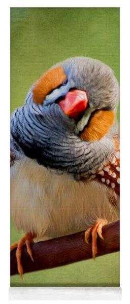 Bird Art - Change Your Opinions Yoga Mat