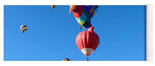 Bird Balloon Yoga Mat