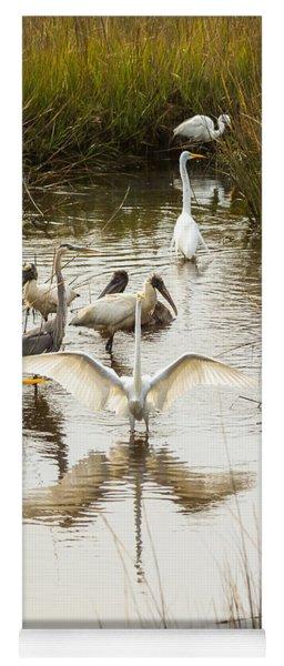 Bird Brunch 2 Yoga Mat