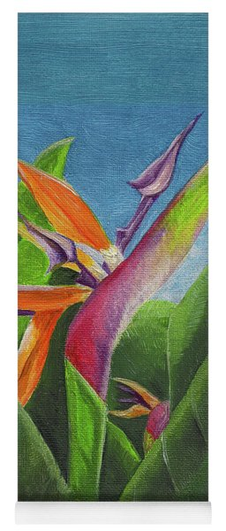 Hawaiian Bird Of Paradise Yoga Mat