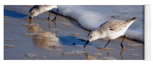 Birds Yoga Mat