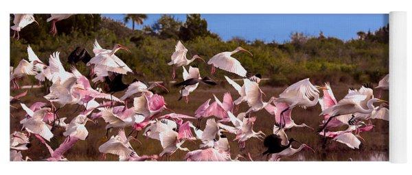 Birds Call To Flight Yoga Mat
