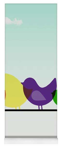 Birds  Yoga Mat