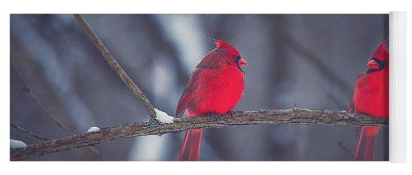 Birds Of A Feather Yoga Mat
