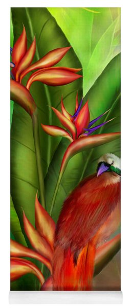 Birds Of Paradise Yoga Mat