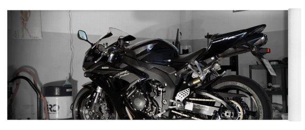 Black 2007 Honda Cbr1000rr Yoga Mat