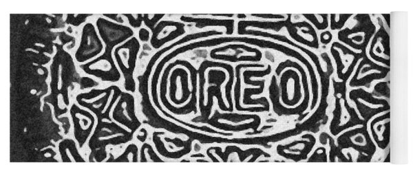 Black And White Oreo Yoga Mat