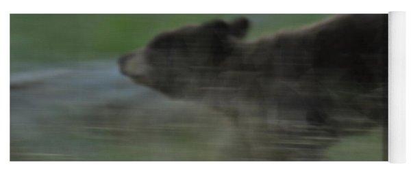 Black Bear Cub Yoga Mat