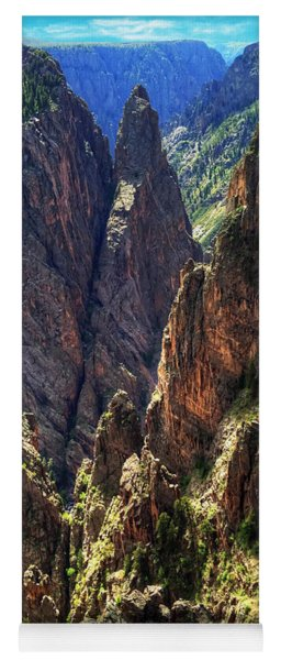 Black Canyon Of The Gunnison National Park I Yoga Mat
