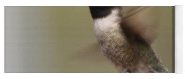 Black-chinned Hummingbird Yoga Mat