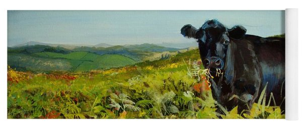 Black Cow Dartmoor Yoga Mat