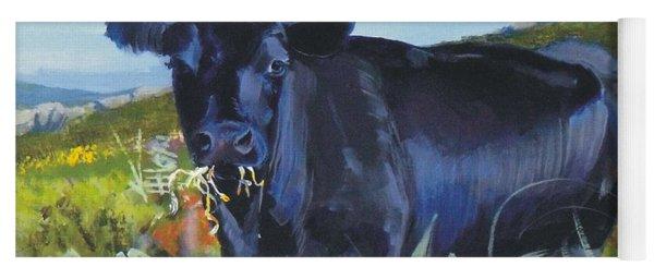Cows Dartmoor Yoga Mat