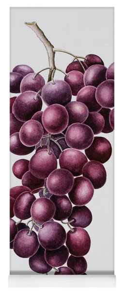 Black Grapes Yoga Mat