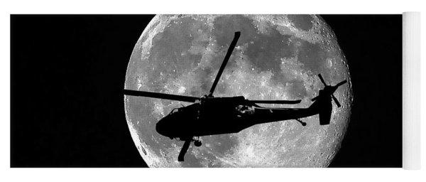Black Hawk Moon Yoga Mat