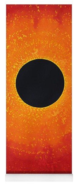 Black Hole Sun Original Painting Yoga Mat