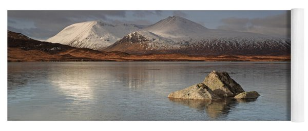 Black Mount And Lochan Na H-achlaise Yoga Mat