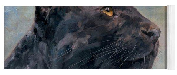 Black Panther Yoga Mat