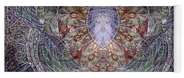 Black Venice Yoga Mat