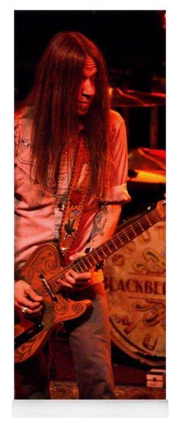 Blackberry Smoke Guitarist Charlie Starr Yoga Mat