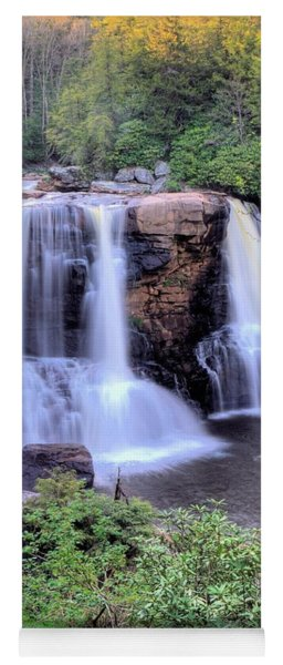 Blackwater Falls Yoga Mat
