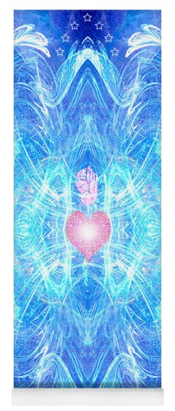 Blessed Mother Mary Yoga Mat