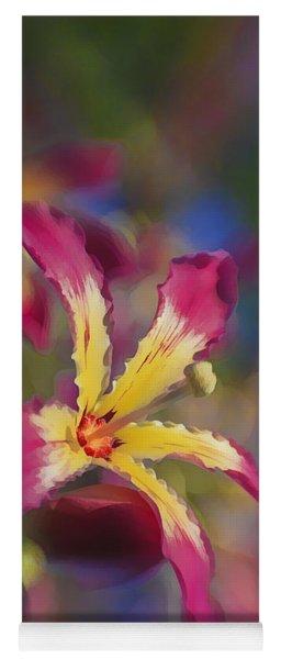 Bloomin Hong Kong Orchid Yoga Mat