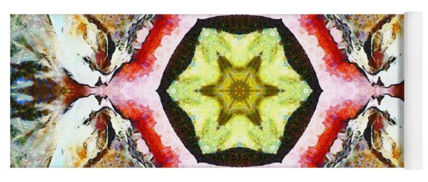 Blooming Fibonacci Yoga Mat