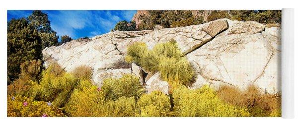 Blooming Nevada Desert Near Ely Yoga Mat