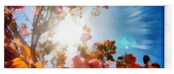 Blooming Sunlight Yoga Mat