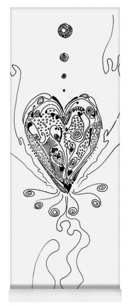 Blossoming Love Yoga Mat