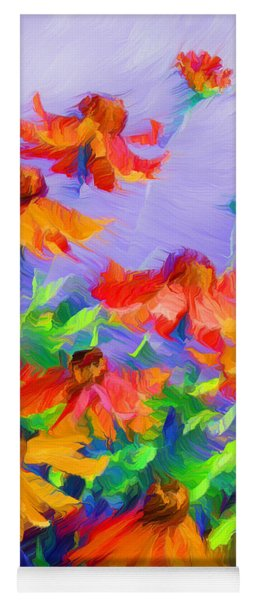 Blowing In The Wind Yoga Mat