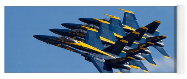 Blue Angels Echelon Yoga Mat