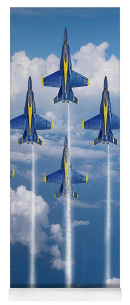 Blue Angels Yoga Mat