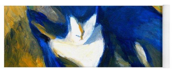 Blue Cat Yoga Mat