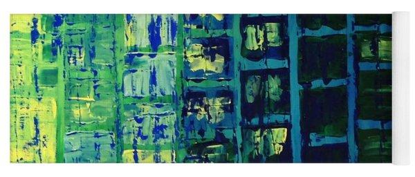 Blue City 2 Yoga Mat