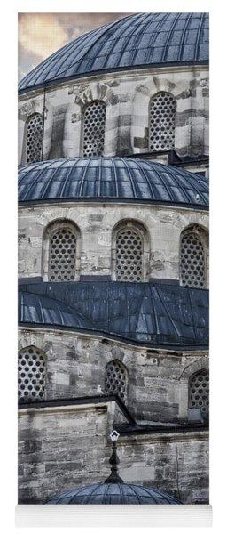 Blue Dawn Blue Mosque Yoga Mat