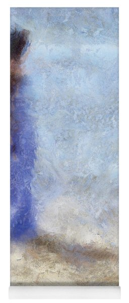 Blue Dream. Impressionism Yoga Mat