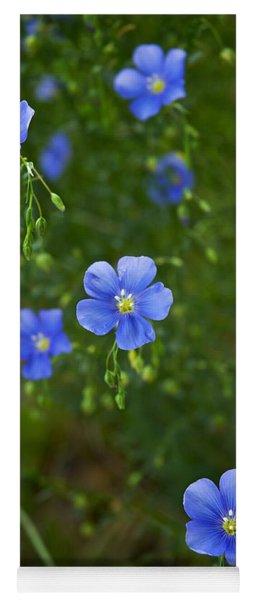 Blue Flax Yoga Mat