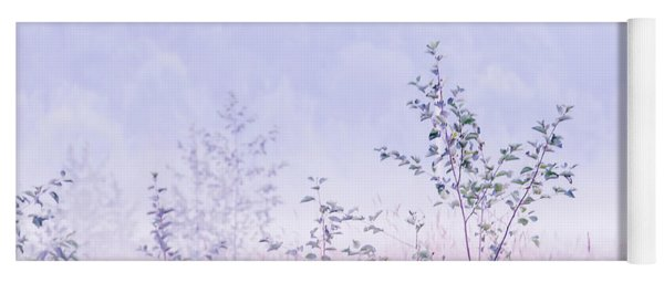 Blue Fog Yoga Mat
