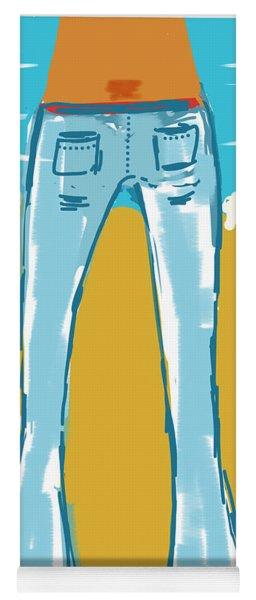Blue Jean Summer Yoga Mat