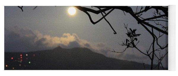 Blue Moon Over El Yunque Yoga Mat