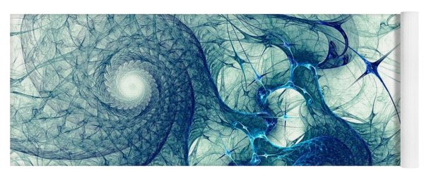 Blue Octopus Yoga Mat