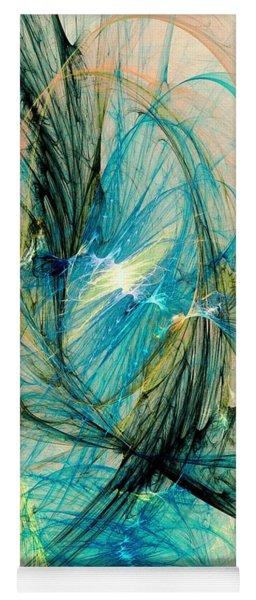 Blue Phoenix Yoga Mat