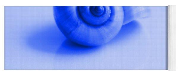 Blue Shell Yoga Mat