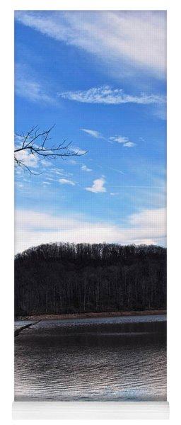 Blue Skies Over Beech Fork Lake Yoga Mat