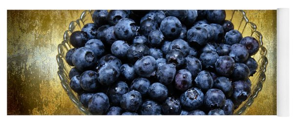Blueberry Elegance Yoga Mat
