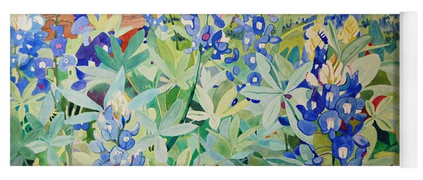 Bluebonnet Beauties Yoga Mat