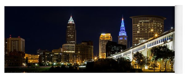 Blues In Cleveland Ohio Yoga Mat