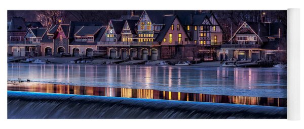Boathouse Row Yoga Mat