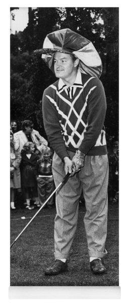 Bob Hope At Bing Crosby National Pro-am Golf Championship  Pebble Beach Circa 1955 Yoga Mat
